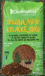 Champost spagnumfri-krukkejord - 20 liter