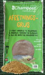 Afretningsgrus/brolæggergrus