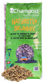 Champost natursten brunmix - 20 kg